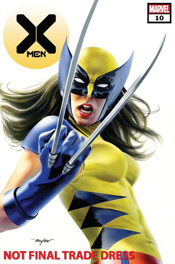 Pre-Order: X-MEN #10 Mike Mayhew X-23 Exclusive! ***Available in TRADE DRESS & VIRGIN SETS***