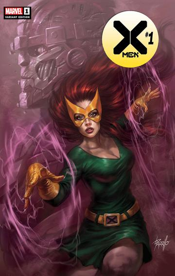 X-MEN #1 Lucio Parrillo EXCLUSIVE! ***Available in TRADE DRESS and VIRGIN SET*** - Mutant Beaver Comics