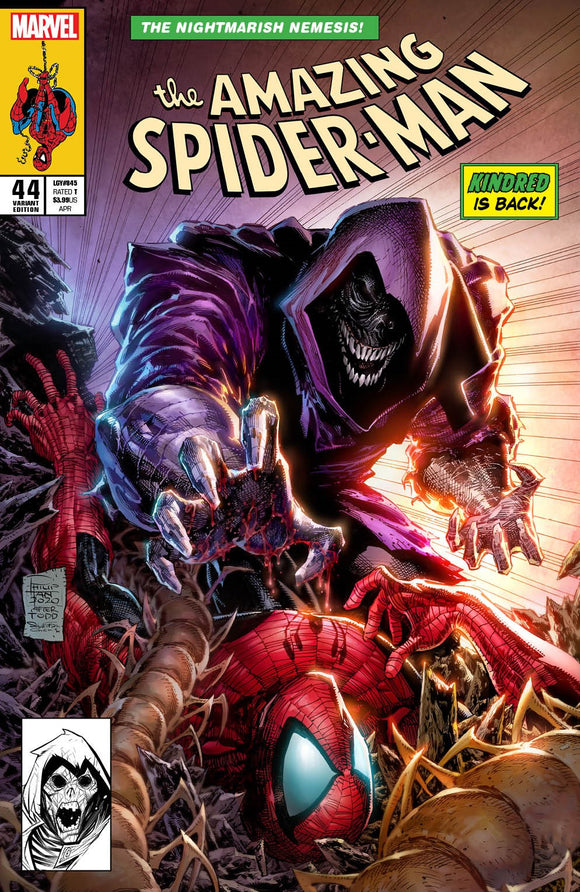 Pre-Order: AMAZING SPIDER-MAN #44 Philip Tan Exclusive! ***Available in TRADE DRESS, VIRGIN SET, and SECRET VIRGIN SET!*** - Mutant Beaver Comics