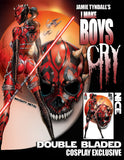 Pre-Order: I MAKE BOYS CRY #1 Double Bladed Cosplay Exclusive! 11/30/20 - Mutant Beaver Comics