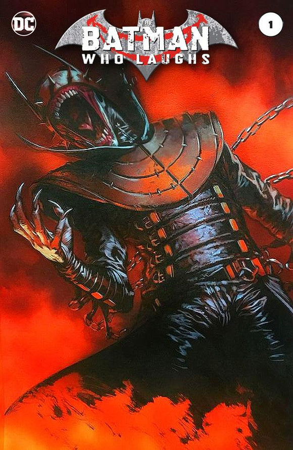 BATMAN WHO LAUGHS #1 Dell 'Otto TRADE DRESS Variant! - Mutant Beaver Comics