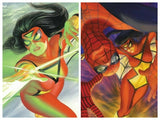 Pre-Order: SPIDER-WOMAN #1 Alex Ross Exclusive! ***Available in Cover A, Cover B, & Set of A/B*** - Mutant Beaver Comics