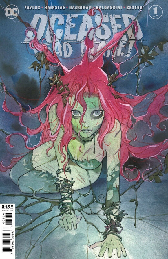 Pre-Order: DCEASED DEAD PLANET #1 (OF 6) 4TH PRINT PEACH MOMOKO VARIANT POISON IVY (09/16/2020) - Mutant Beaver Comics