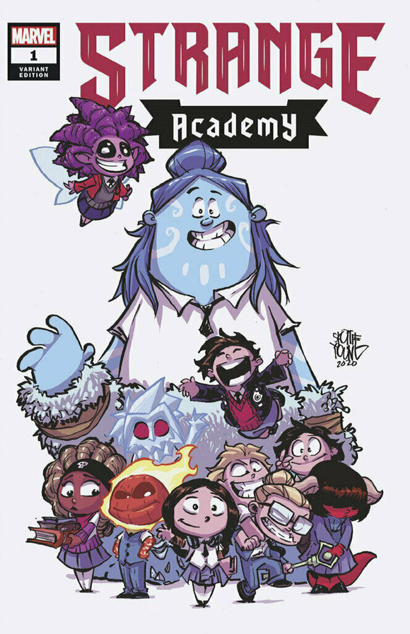 Pre-Order: STRANGE ACADEMY #1 Skottie Young Exclusive Variant! (10 first appearances!) - Mutant Beaver Comics
