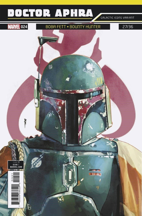 DOCTOR APHRA #24 REIS GALACTIC ICON VARIANT - BOBA FETT! ***IN STOCK*** - Mutant Beaver Comics