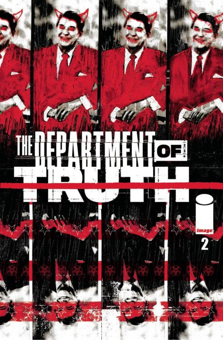 DEPARTMENT OF TRUTH #2 Cover A - Mutant Beaver Comics