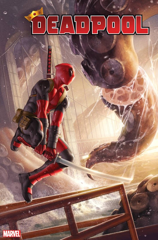DEADPOOL #1 1:50 JUNGGEUN YOON RATIO VARIANT!