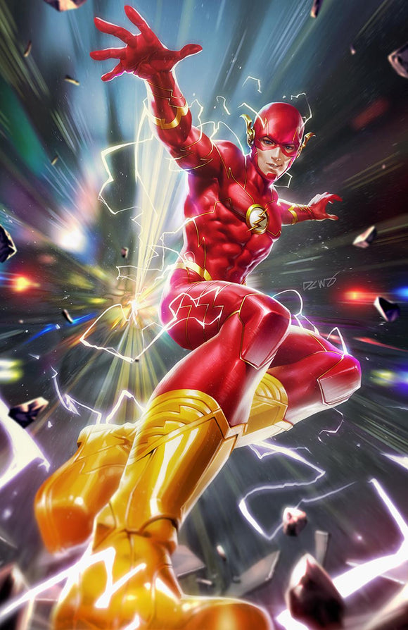 FLASH #60 Cover B Derrick Chew - Mutant Beaver Comics
