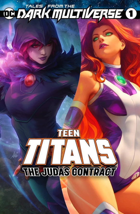 Pre-Order: TALES OF THE DARK MULTIVERSE The Judas Contract #1 ARTGERM Exclusive! ***Available in TRADE DRESS, VIRGIN SET, & FULL Set of 3***