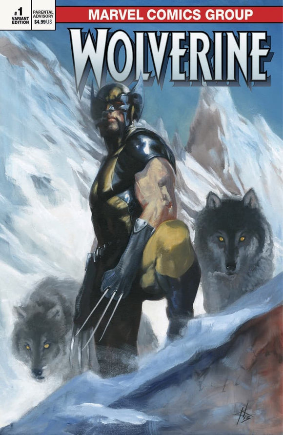 RETURN OF WOLVERINE #1 Gabriele Dell 'Otto TRADE DRESS! ***ONLY 600 Copies!!*** - Mutant Beaver Comics