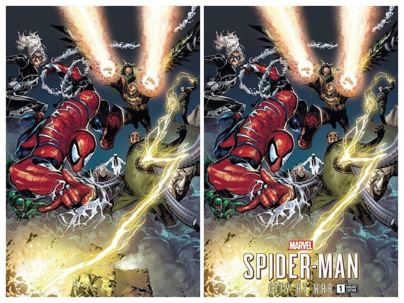 SPIDER-MAN CITY AT WAR #1 Philip Tan
