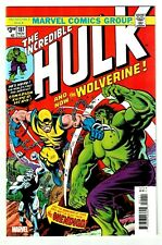 INCREDIBLE HULK #181 Facsimile Edition - Mutant Beaver Comics