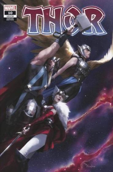 Pre-Order: THOR #10 Miquel Mercado EXCLUSIVE Set! 12/30/20