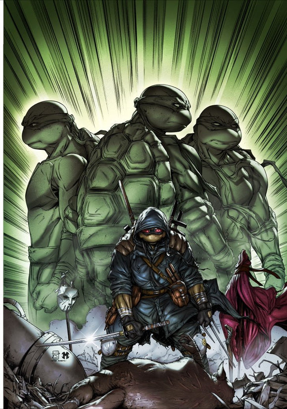 Pre-Order: TMNT THE LAST RONIN #1 NYCC 2020 Raymond Gay VIRGIN Exclusive! ***Ltd to 450*** 11/15/20 - Mutant Beaver Comics