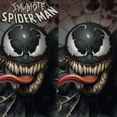SYMBIOTE SPIDER-MAN #1 Ryan Brown EXCLUSIVE Set!