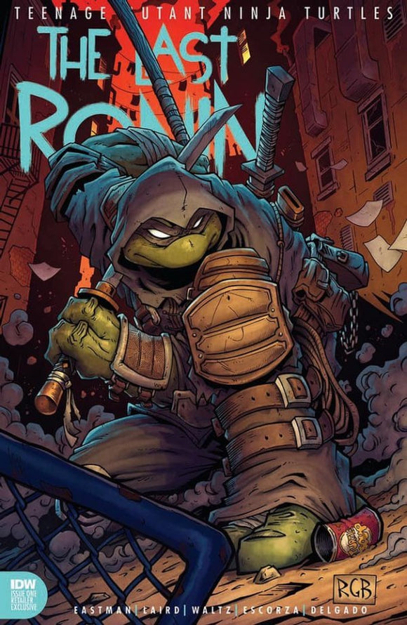 Pre-Order: THE LAST RONIN #1 Ryan Browne Exclusive! (Ltd to ONLY 750) 10/30/20