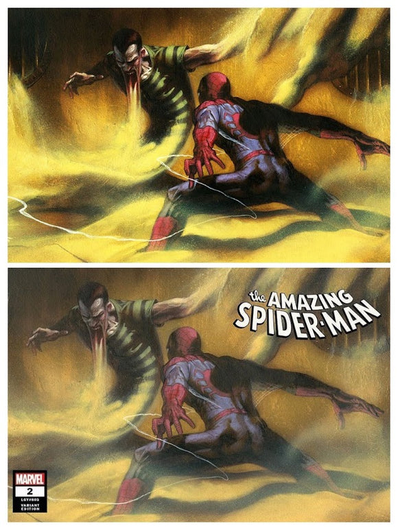 AMAZING SPIDER-MAN #2 Dell 'Otto SET (Trade Dress + Virgin ~ Horizontal Cover)! ***LIMITED to ONLY 600 SETS!***
