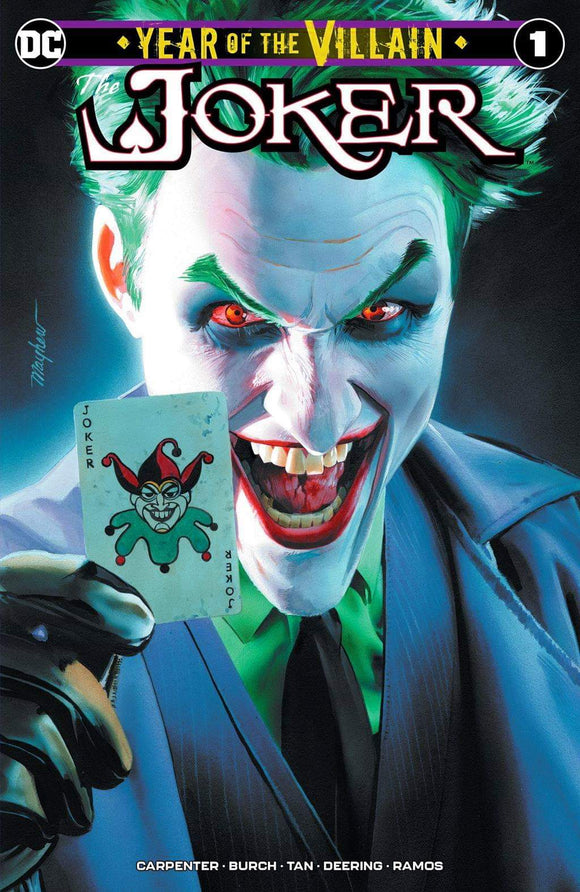 Pre-order: THE JOKER #1 Mike Mayhew Exclusive! ***Available in TRADE DRESS, VIRGIN SET, CGC 9.8, CGC SS, & REMARK***