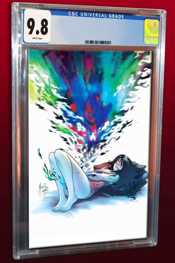 Pre-Order: FAITHLESS #1 Mirka Andolfo CGC 9.8 VIRGIN Exclusive! ***Please Allow 4-6 Weeks After Release for CGC Processing***