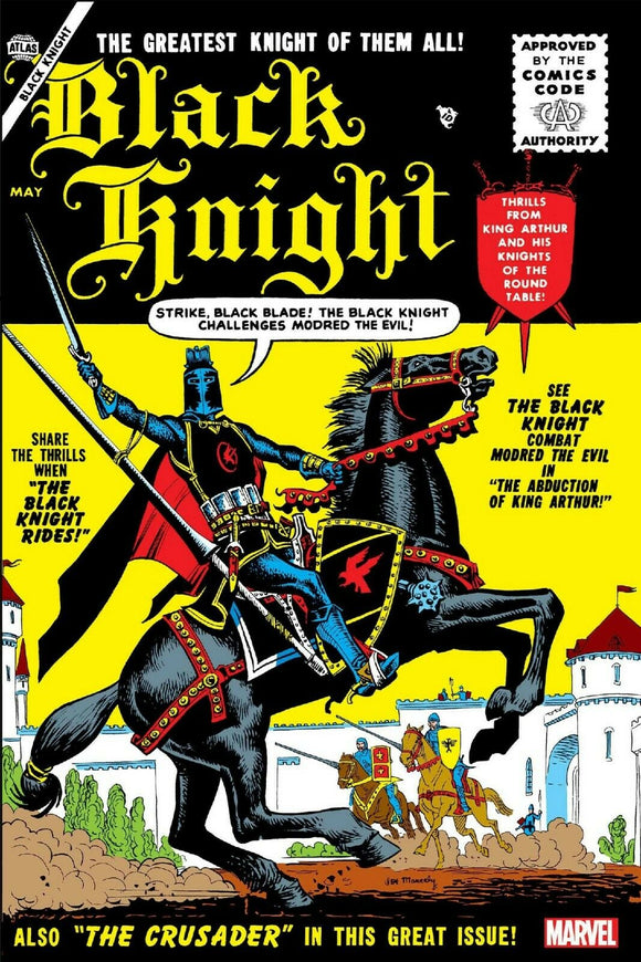 BLACK KNIGHT 1 FACSIMILE FAX EDITION VARIANT