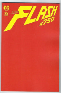 FLASH #750 Giant-Sized 80 Page RED BLANK - Mutant Beaver Comics