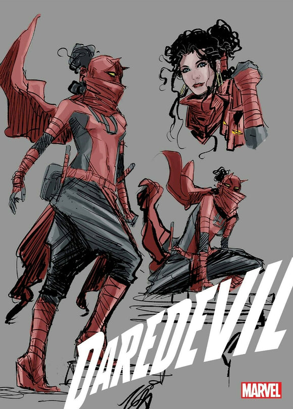 DAREDEVIL #25 2ND PRINT 1:25 RATIO DESIGN VARIANT! ***Ltd Quantities IN STOCK!***
