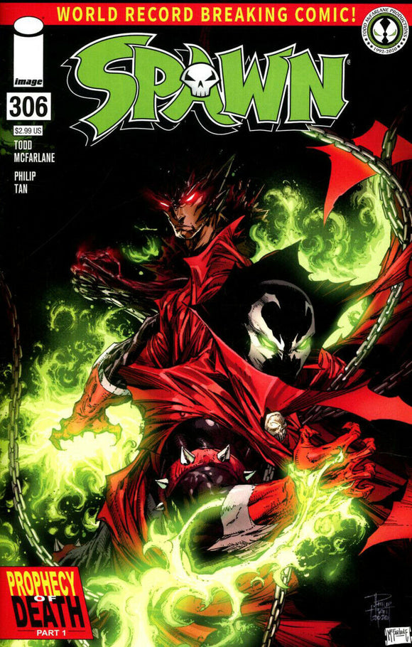 SPAWN #306 - Available in Singles & Complete Sets!