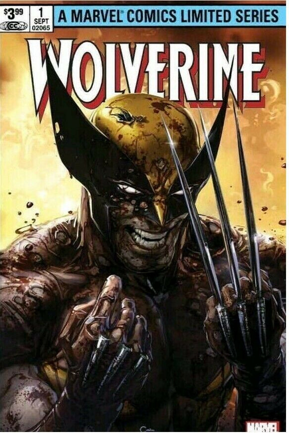 Pre-Order: WOLVERINE by Claremont & Miller #1 Facsimile Edition HOMAGE by Clayton Crain! - Mutant Beaver Comics
