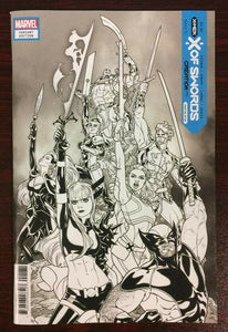 X OF SWORDS CREATION #1 SKETCH COVER! ***1 PER STORE ONLY!*** - Mutant Beaver Comics