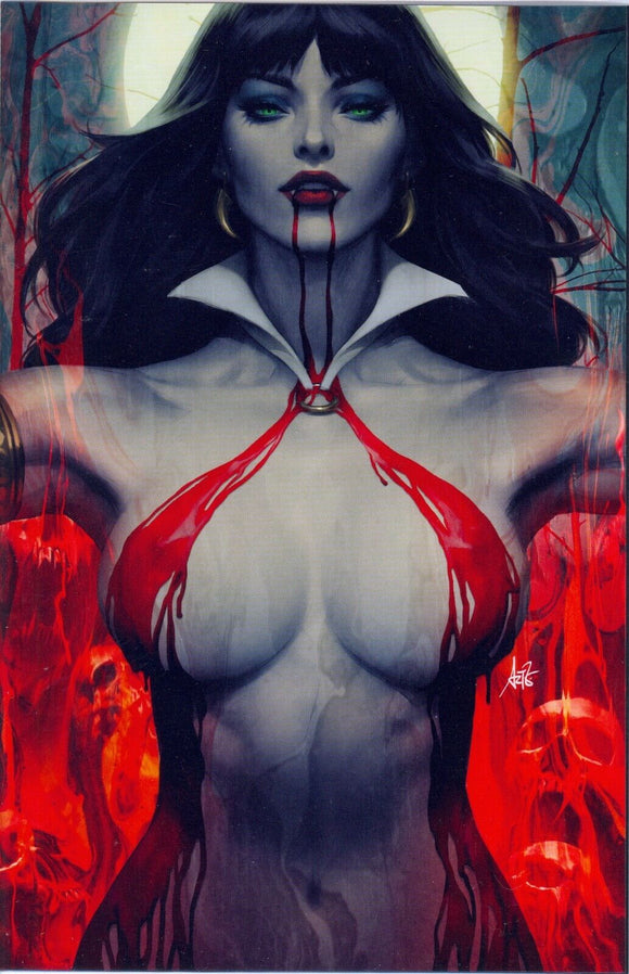 VAMPIRELLA #2 FOIL Virgin ARTGERM Collectibles Exclusive - Mutant Beaver Comics