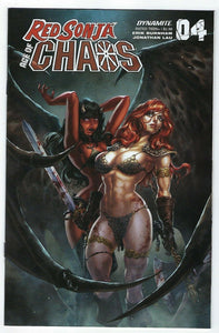 RED SONJA Age Of Chaos # 4 Quah Cover B - Mutant Beaver Comics