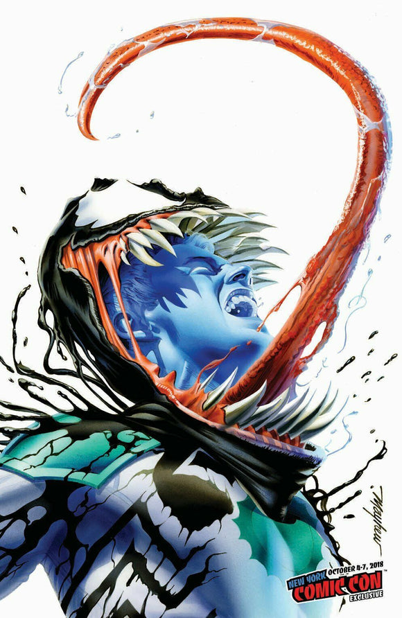VENOM: First Host #1 Mike Mayhew NYCC VIRGIN Exclusive! (1st app of Tel-Kar!) ***Ltd to 1000*** - Mutant Beaver Comics