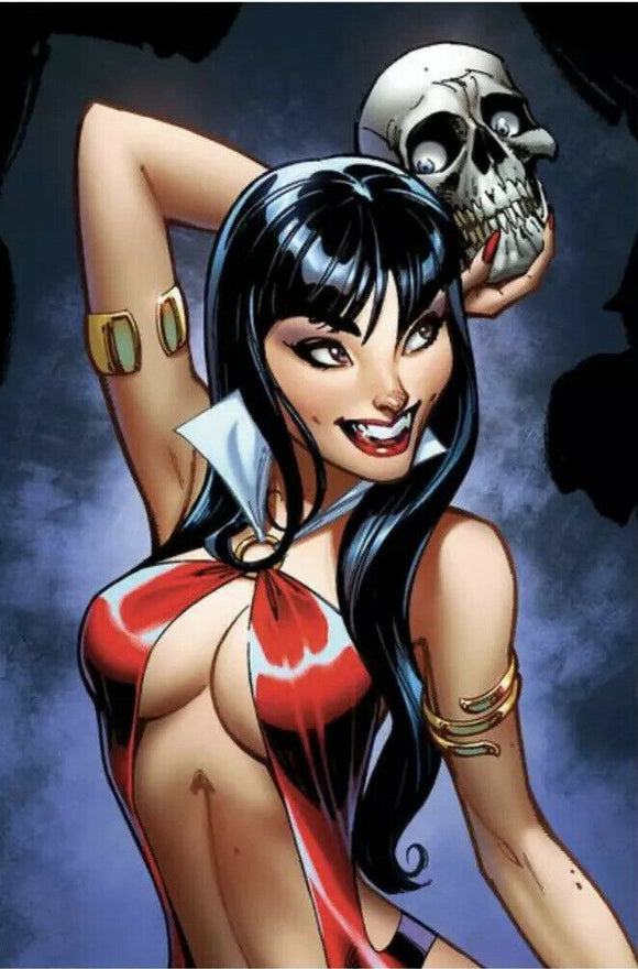 VAMPIRELLA #2 1:25 J SCOTT CAMPBELL VIRGIN SNEAK PEEK Ratio Variant - Mutant Beaver Comics
