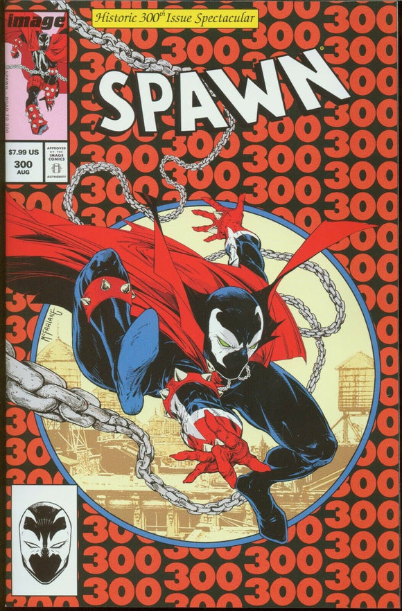 SPAWN #300 Homage Cover (1st print) - Mutant Beaver Comics