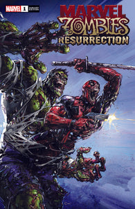 MARVEL ZOMBIES Resurrection #1 Clayton Crain Exclusive! ***Available in TRADE DRESS, VIRGIN, & VIRGIN SET***