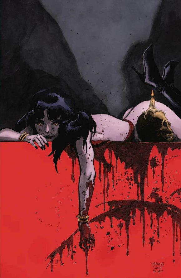 VAMPIRELLA #1 Tim Sale VIRGIN Exclusive! ***Limited to ONLY 3000 Copies w/COA!*** - Mutant Beaver Comics