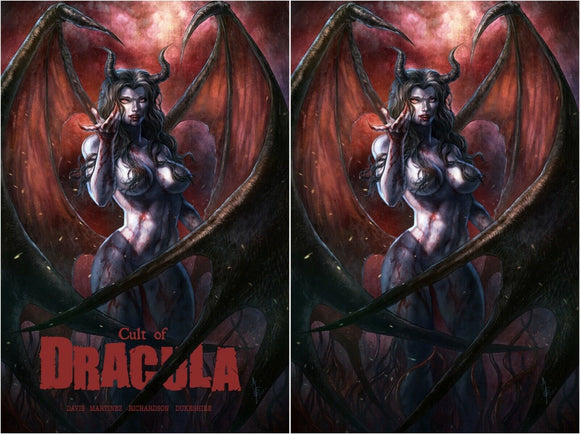 CULT OF DRACULA #1 Alan Quah Exclusive VIRGIN SET! ***Ltd to ONLY 400 Sets w/ COA!*** - Mutant Beaver Comics