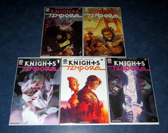 KNIGHTS TEMPORAL #1-#5 Complete Set - Mutant Beaver Comics