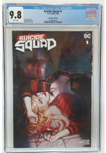 CGC 9.8 SUICIDE SQUAD #1 Woo Chul Lee EXCLUSIVE! - Mutant Beaver Comics