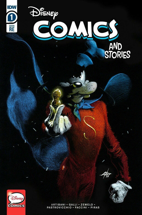 Pre-Order: DISNEY COMICS & STORIES #1 GOOFY DELL' OTTO EXCLUSIVE! 09/30/20 - Mutant Beaver Comics