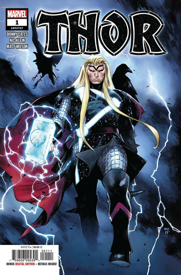 THOR 1 GABRIELE DELL'OTTO TRADE Variant Donny Cates
