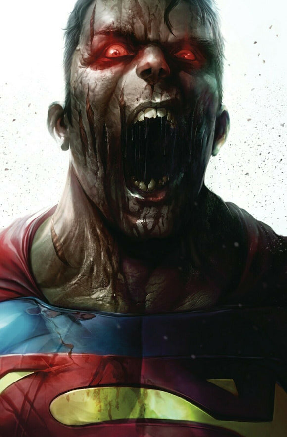 DCeased #2 Mattina Zombie Variant - Mutant Beaver Comics
