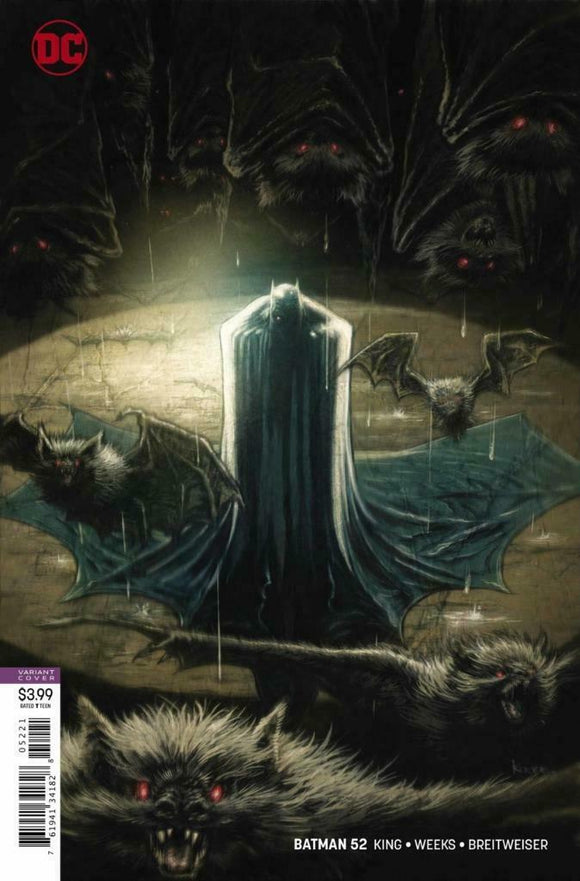 BATMAN #52 Cover B Kaare Andrews - Mutant Beaver Comics