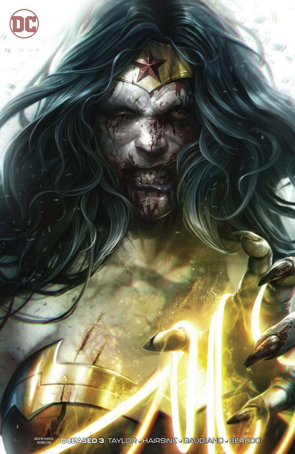 DCeased #3 Mattina Zombie Variant - Mutant Beaver Comics