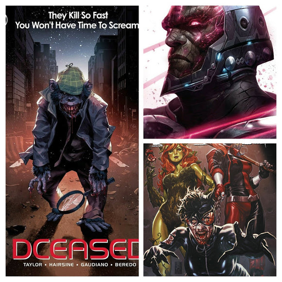 DCeased #6 SPEC PACK (All 3 Covers!) ***BEST VALUE!*** - Mutant Beaver Comics