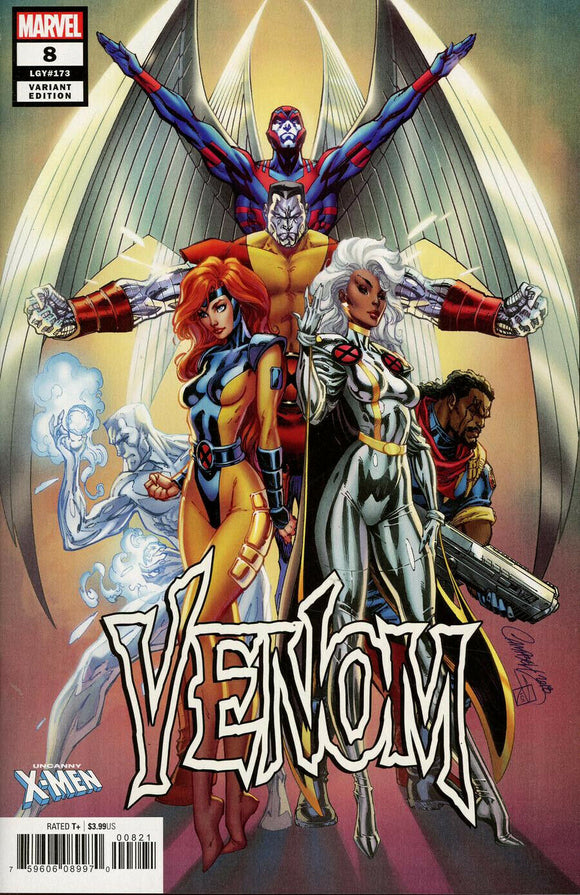 VENOM #8 J. SCOTT CAMPBELL UNCANNY X-MEN VARIANT - Mutant Beaver Comics