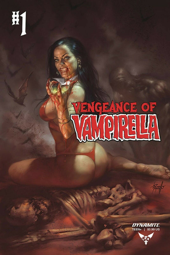 VENGEANCE OF VAMPIRELLA #1 Parrillo Cover D - Mutant Beaver Comics