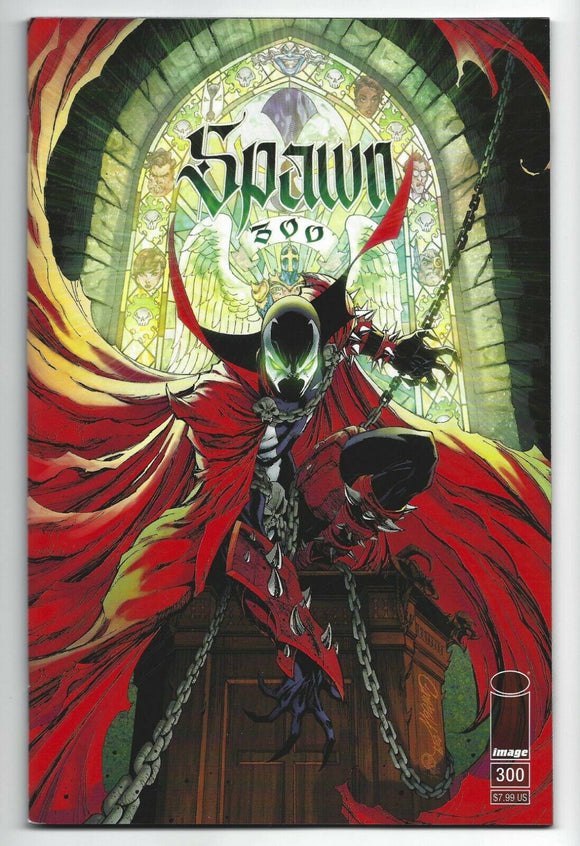 SPAWN #300 J. Scott Campbell TRADE DRESS - Mutant Beaver Comics