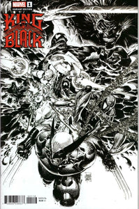 KING IN BLACK #1 BILLY TAN LAUNCH SKETCH VARIANT (ONE PER STORE) - Mutant Beaver Comics