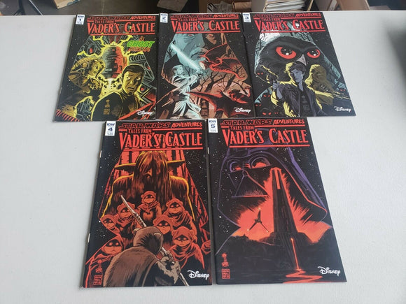 TALES FROM VADER'S CASTLE #1 - #5 Complete Set - Mutant Beaver Comics